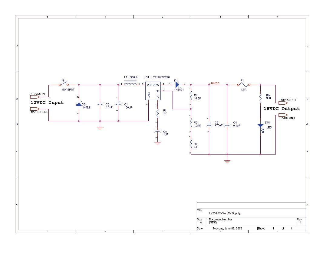 12v 18v Converter Dc Drill Wiring Diagram Free Picture Schematic Total Parts Cost Not Including Shipping Charges And State Sales Taxes 7713